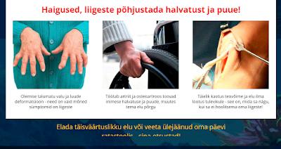 Liigeste kreemi haigused Poluartrid sormeotsteliide liigeste liigestest