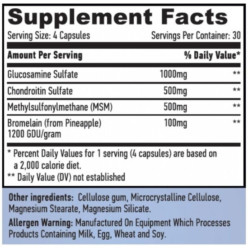 Glukoosamiini kondroitiini tootja