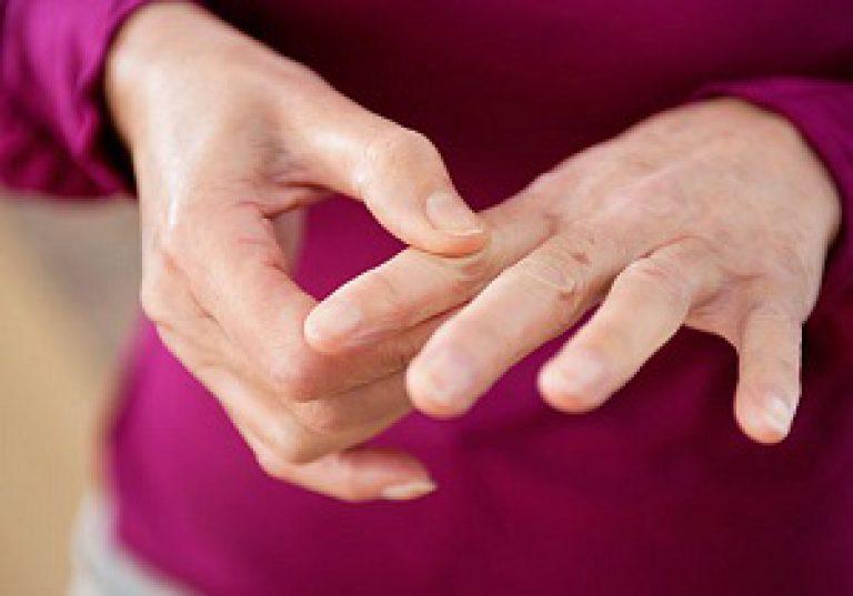 Jala sormede liigeste haigused