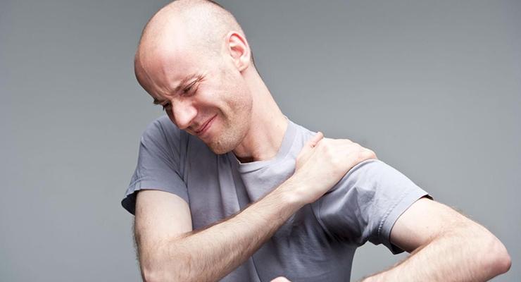 Valu kuunarnukis ja parempoolse lihastes