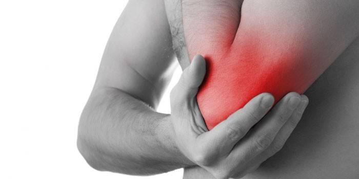 Liigeste ja kontrastse dussi artriit