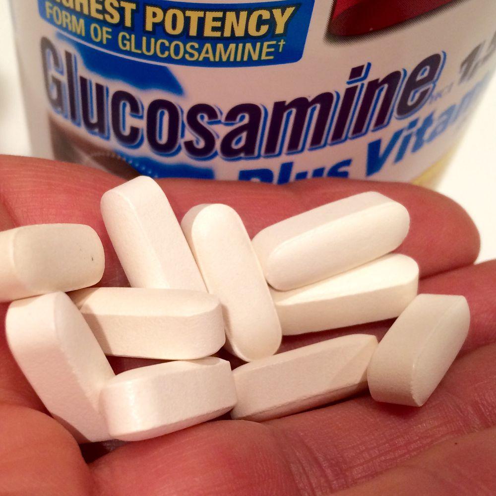 Glukoosamiin ja kondroitiin