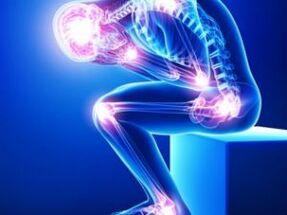 Valu keha liigestes ja laigudel Arthrozi jala 2 etappide ravi