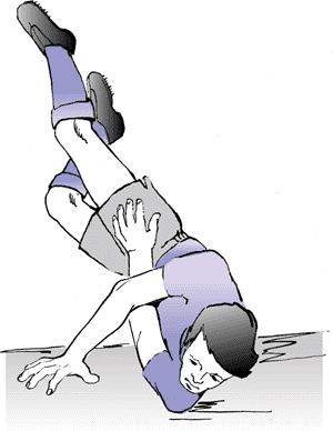 Esmaabi olaliigese valu jaoks Kui liigend on valus keskmise sormega